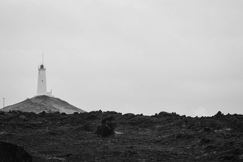 The Reykjanes Lighthouse.