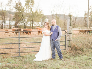Sandra and Adam's Rustic Wedding - Reinhart's Tree Farm