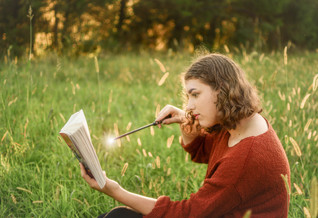 Magical Literature-Inspired Portrait Session with Abby - Douglassville, PA