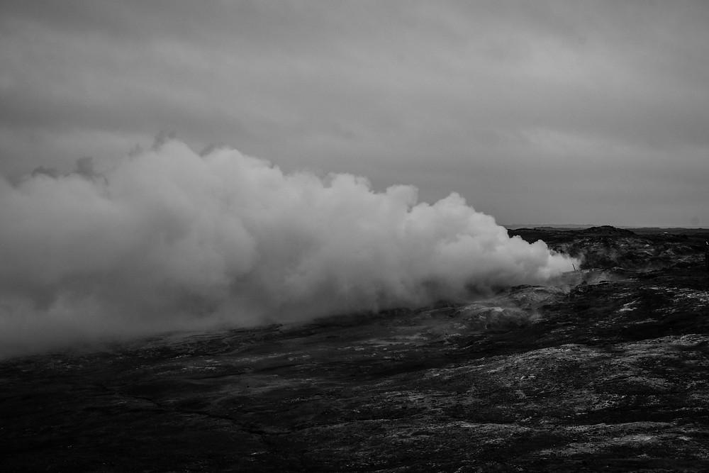 Gunnahver, the geothermal hot spring.