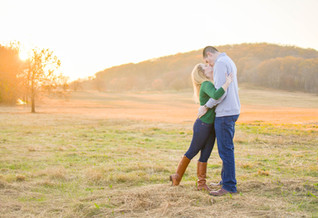 Taylor and Robert's Valley Forge Sunset Session - Valley Forge, PA