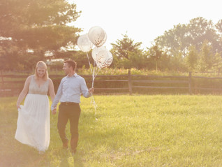 Rebecca and Jason's Maternity Session at the Daniel Boone Homestead