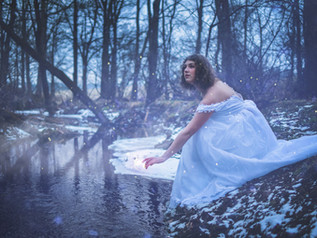Whimsical January Forest Photoshoot with Abby - Douglassville, PA