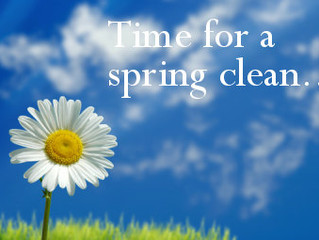 Spring Cleaning!