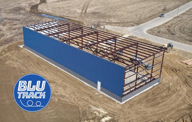 Blu Track Building Exterior wth Rear Sid