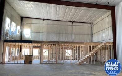 Blu Track Building Mezzanine Constructio