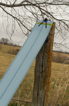 Over a Fence Post