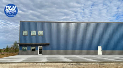 Blu Track Building - Exterior Complete a