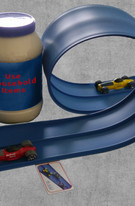 Make a loop using household items!