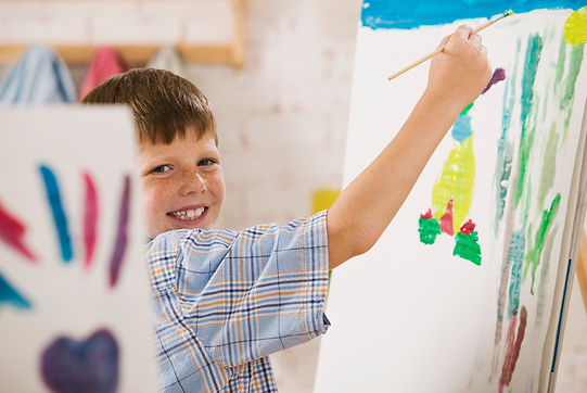 Boy Painter