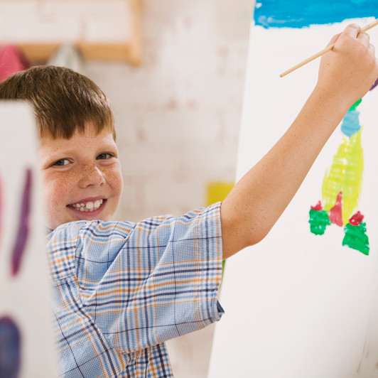 Homeschool Art Class in East Lansing