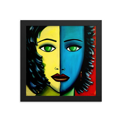 Two Faced by Michael Perez FRAMED