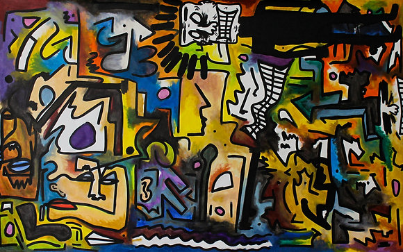 Faces in a crowd by Deego