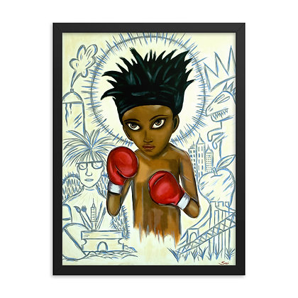 Baby Basquiat by Sarai FRAMED