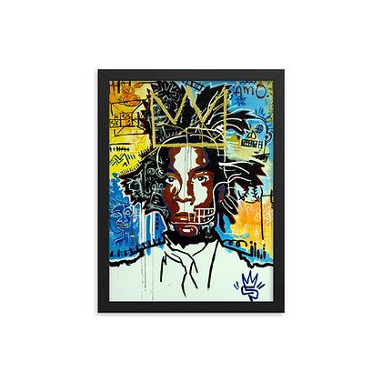 The King by Eddie Pons FRAMED