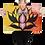 Thumbnail: Yellow Lotus by Flower Bomb CANVAS PRINT