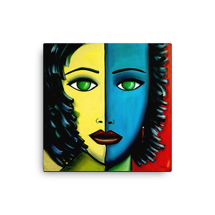 Two Faced by Michael Perez CANVAS PRINT