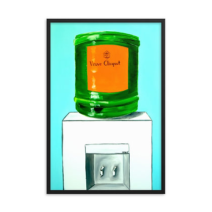 Clicquot Cooler by Captain Casual FRAMED