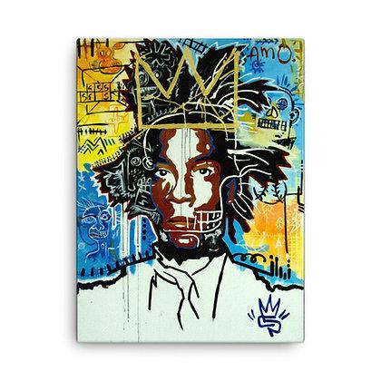 The King by Eddie Pons CANVAS PRINT