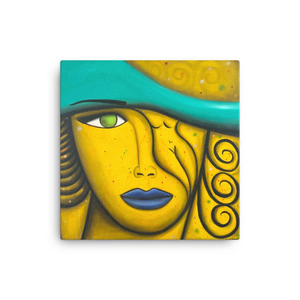Yellow Woman by Michael Perez CANVAS PRINT