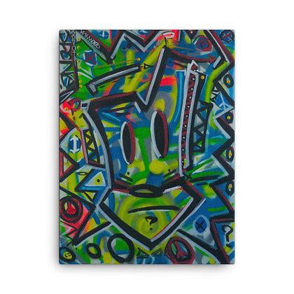 JPONE by Jason Perez CANVAS PRINT