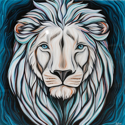 WHITE LION by Silver Francis