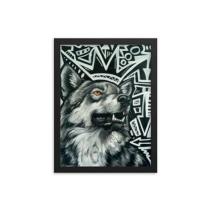 Spirit Animal collaboration by Patti Suzette & Jason Perez FRAMED