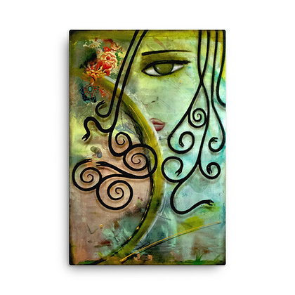 Medusa by Michael Perez CANVAS PRINT