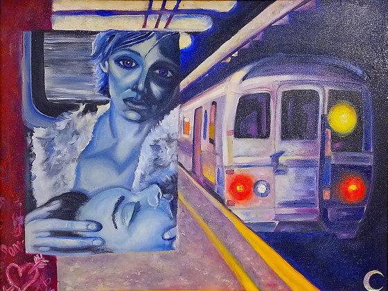 LAST TRAIN by Ben Moon