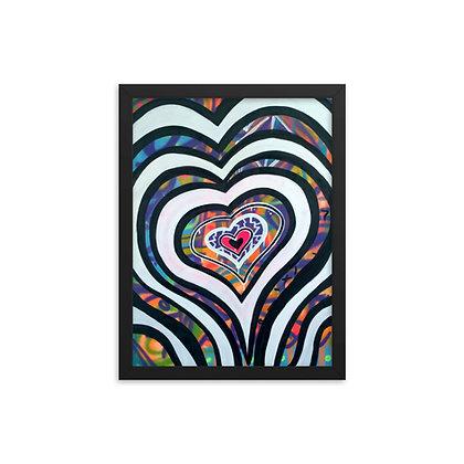 Love x7 by Jason Perez FRAMED