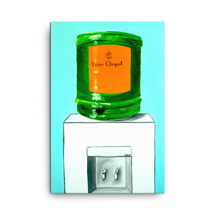 Clicquot Cooler by Captain Casual CANVAS PRINT