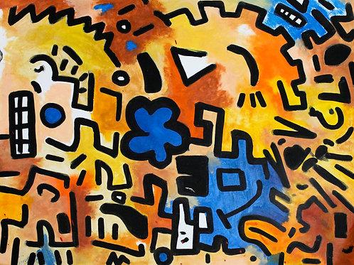 Find me (Framed) by Deego