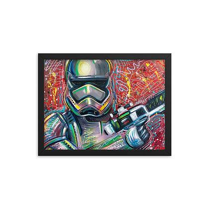 Storm Trooper by Laz Rivera FRAMED