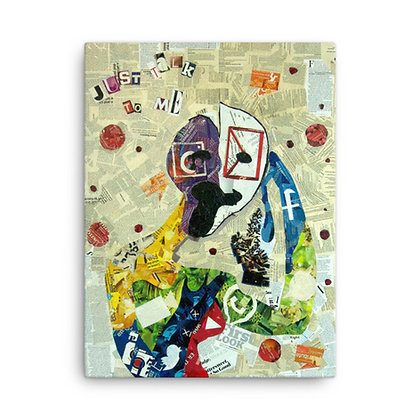 Social Media Monster by Mind of Mila CANVAS PRINT
