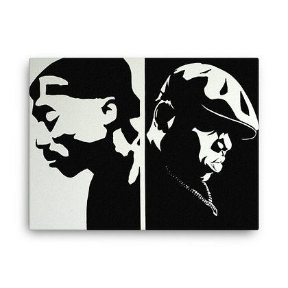 Pac & Biggie by Jordana