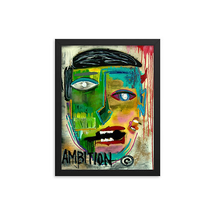 Ambition by Mister George FRAMED