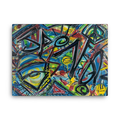 Meet My Ninja by Jason Perez CANVAS PRINT