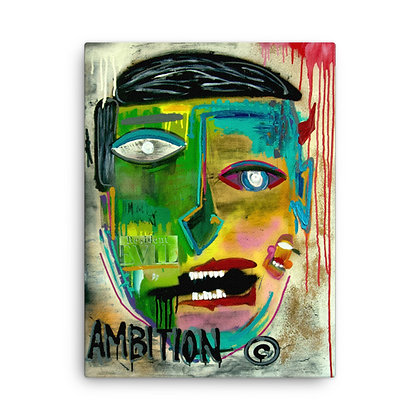 Ambition by Mister George CANVAS PRINT