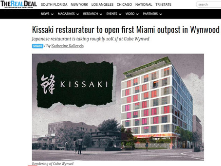 Kissaki restaurateur to open first Miami outpost in Wynwood
