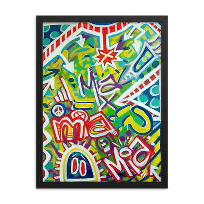 MIA by Jason Perez FRAMED
