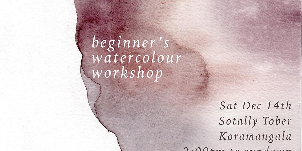 Beginner's Watercolour Workshop - Bangalore