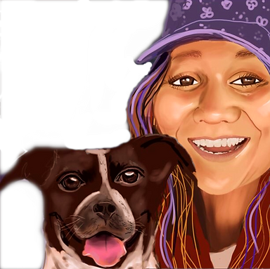 Monica and Kobe by Jackie Dandelion