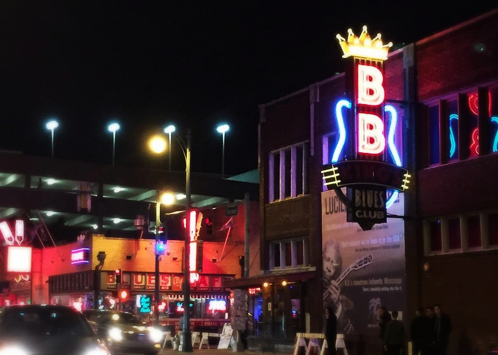 """Walking With My Feet 10 Feet Off of Beale"""
