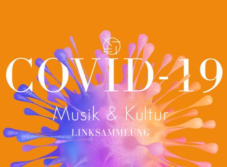 COVID-19 | wichtige Links für Selbstständige in Musik und Kreativ/Kulturwirtschaft