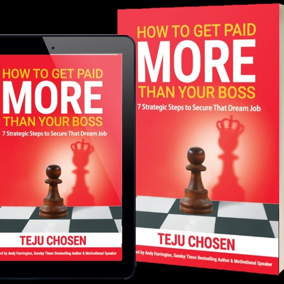 HOW TO GET PAID MORE THAN YOUR BOSS Book Launch