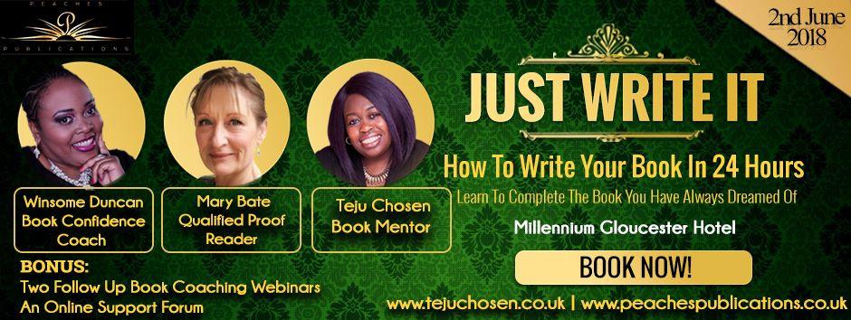 Just Write IT, 2nd June 2018, Millennium Gloucester Hotel