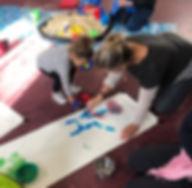mum and daughter painting - comm.jpg