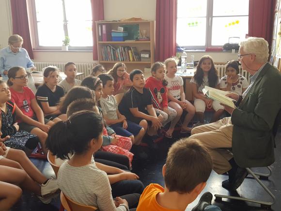 Vorlesen mit Herrn Wolberg