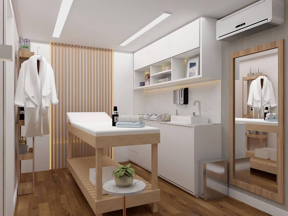 Sala de Estética por Spazzio Design