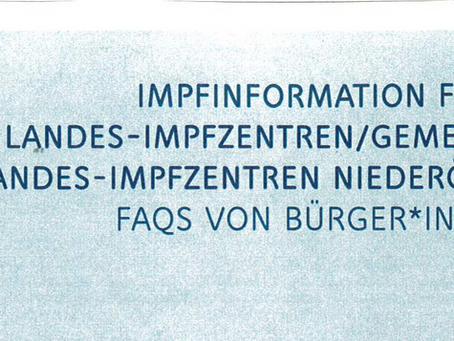 Impfinformation für Landes-Impfzentren